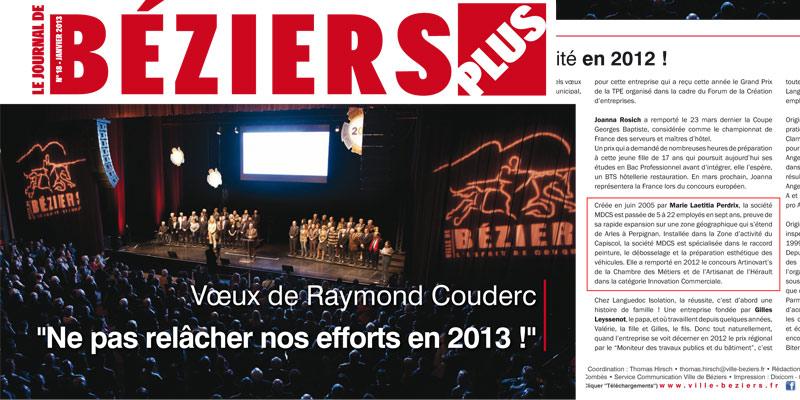 Le journal de Béziers (Janvier 2013 – n°18)