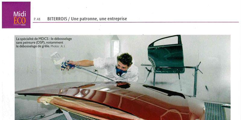 article de presse Midi Eco