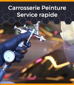 carrosserie peinture service rapide
