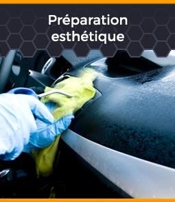 préparation esthétique de voiture