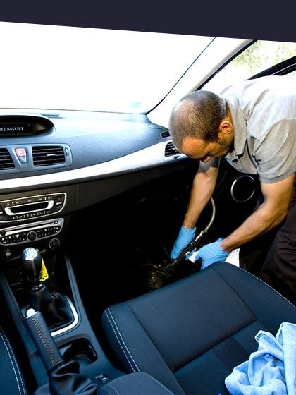 preparation esthétique de voiture