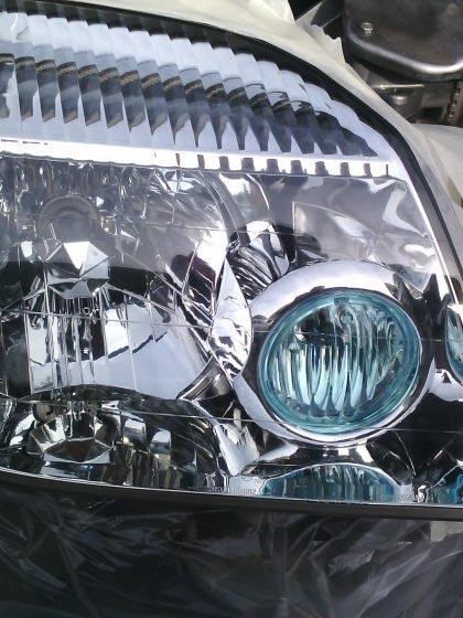réparation optique de phare automobile