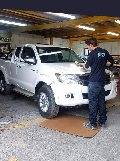 service lustrage vehicule