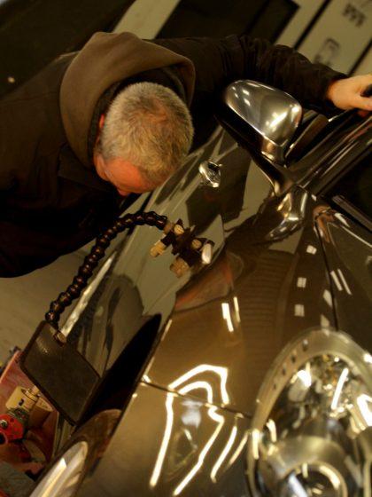 Sinistre grêle réparation de véhicule