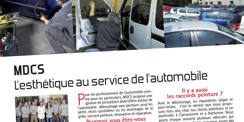 MDCS, L'esthétique au service de l'automobile
