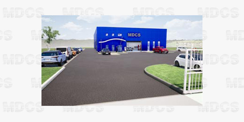 Construction du nouveau site MDCS à Perpignan