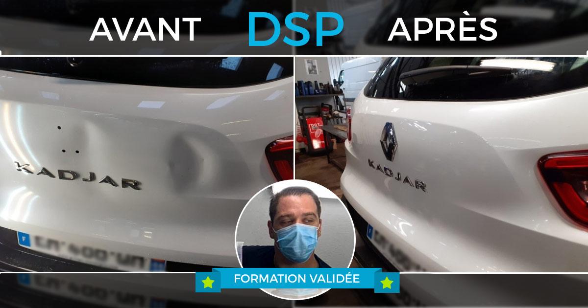 avant / après DSP sur Renault Kadjar